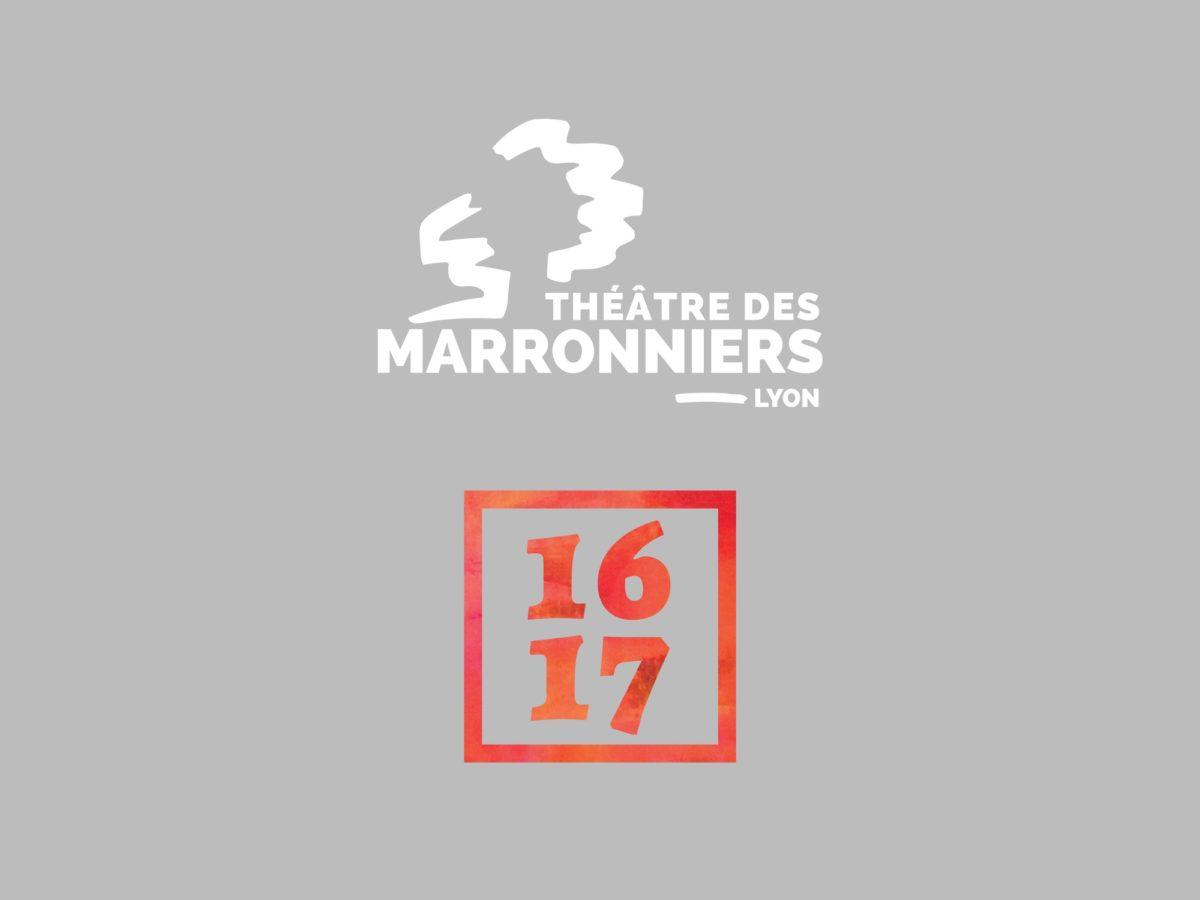 Visuel Théâtre des Marronniers saison 2016 2017