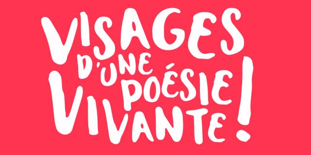 Identité visuelle exposition Visage d'une poésie vivante ! 2