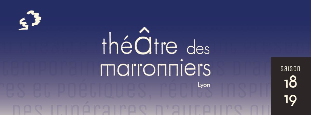 Couverture théâtre des Marroniers saison 2018 2019